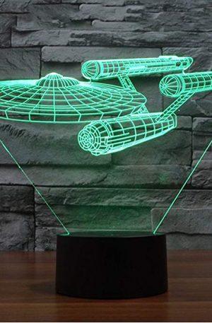 Lámpara de Escritorio Mesa de Star Trek USS Enterprise