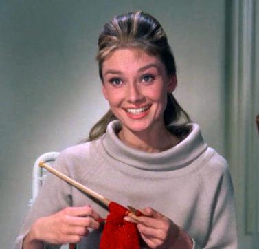 A Audrey Hepburn .