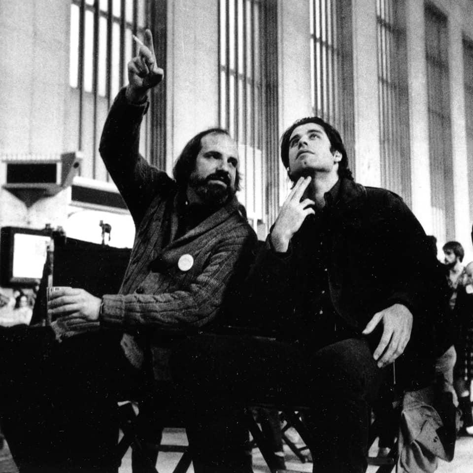Brian de Palma y John Travolta