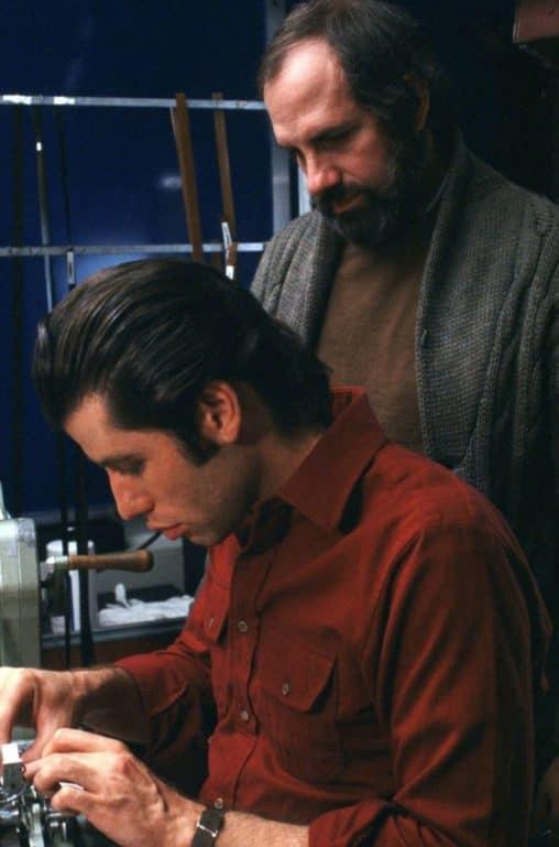 John Travolta y Brian de Palma
