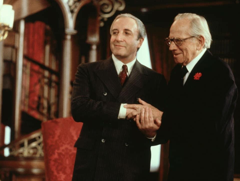 Peter Sellers y Melvyn Douglas
